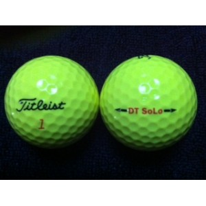 Titleist DT So/lo Yellow-Used 1st Quality (12)
