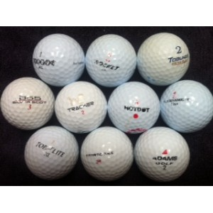 Practice Balls-Low Quality Mixed Brands (Pk 60)