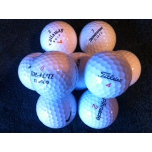 Practice Balls-Medium Quality Mixed Brands (Pk 60)