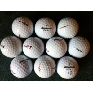 Practice Balls-Medium Quality Bridgestone Mix (Pk 60)