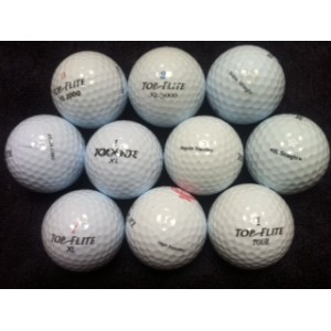 Practice Balls-Medium Quality Top Flite Mix (Pk 100)